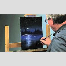Paintalong How To Paint A Night Scene In Oils, Part 2