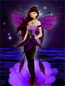 Purple Fairy by Xscape-rtist on DeviantArt