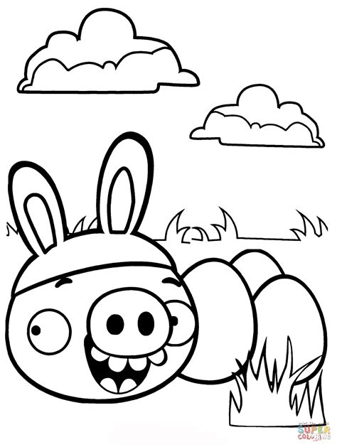Kleurplaat Angry Birds Pig by 15 Best Printable Angry Birds Colouring Pages For