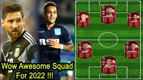 OMG!🔥 New Argentina Squad for 2022 World Cup Qualifiers ...