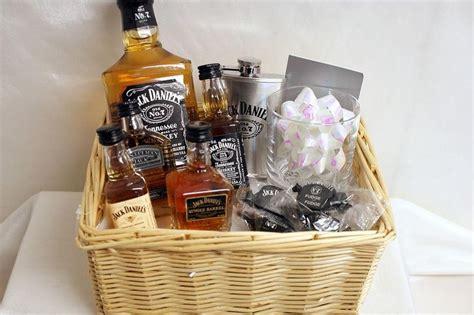 jack daniels gift basket present ideas pinterest