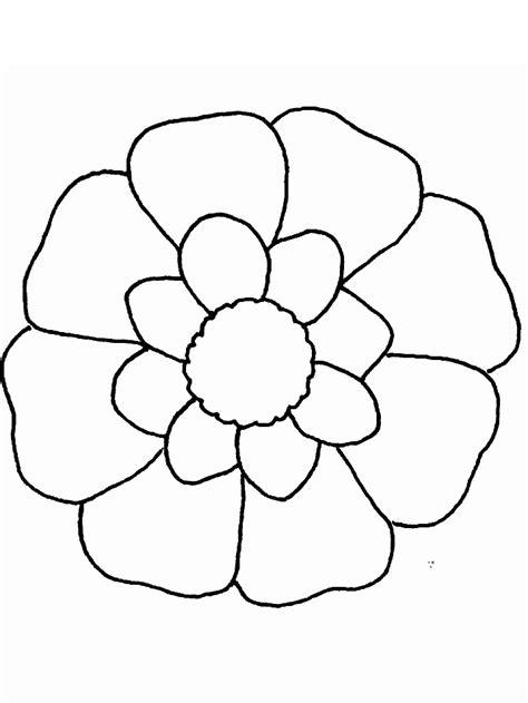 printable flower flowers coloring pages coloringpagebookcom