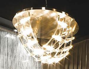 Satin Nickel Ceiling Lights Nella Vetrina Visionnaire Ipe Cavall Benson Luxury