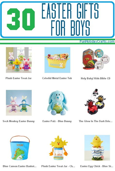 30 easter gifts for boys fun holiday crafts