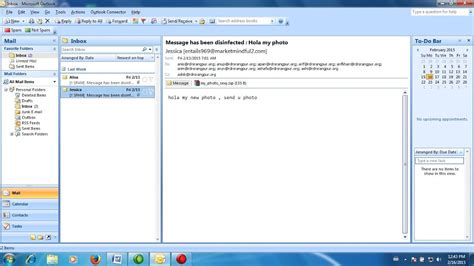 Microsoft Office Outlook by How To Set Up Password In Microsoft Office Outlook 2007