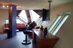 interiors of tiny homes les maisons cube de rotterdam