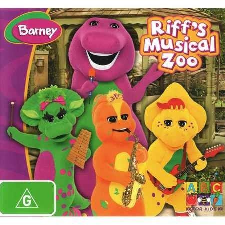 barney riffs musical zoo dvd big