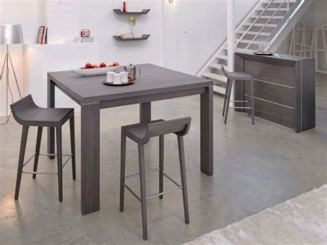 table de cuisine et chaises photo table et chaise de cuisine grise
