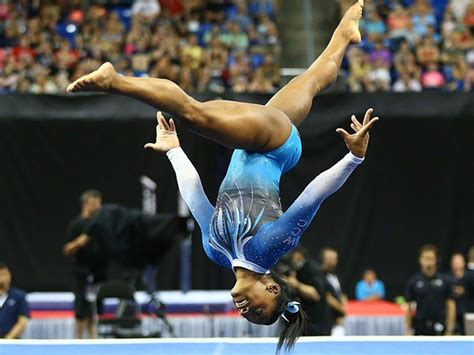 Gymnast Simone Biles Won Her Latest All-Around Title With ...