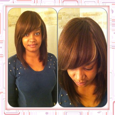 Sew in Bob with Bangs