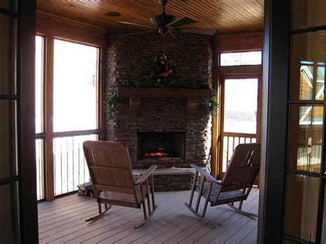 rustic house plan  porches stone   rustic