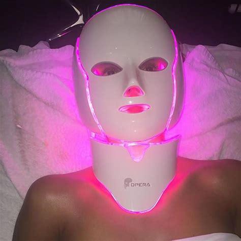 light therapy mask illumask sparks selfie trend on social media ny daily news