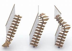 Escalier 1 4 Tournant Gauche : escalier milano h tre lamell coll m tal modulable 1 4 tournant gauche stairs pinterest ~ Dode.kayakingforconservation.com Idées de Décoration
