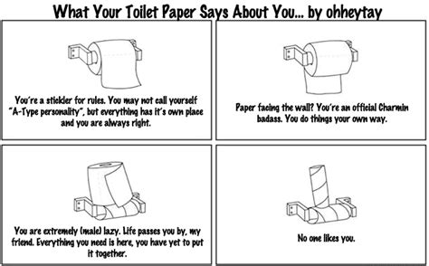 Toilet Paper Roll Meme - future twit what your toilet paper says about you
