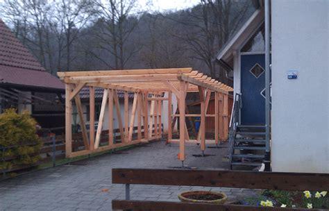 Carport  Die Holzverbindung