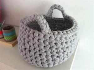 Corbeille Au Crochet : petit panier en crochet g ant dessinatrice textile et cr atrice d 39 objets uniques ~ Preciouscoupons.com Idées de Décoration