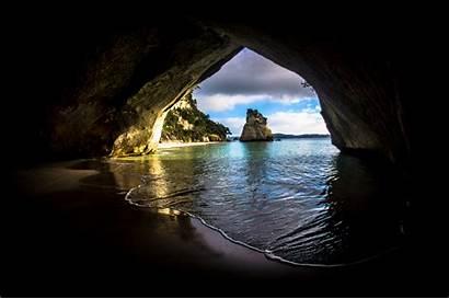 Cave Ocean Wallpapers 4k Nature Backgrounds 5k