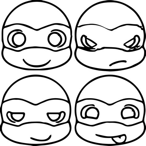 Coloring Pages Of Cute Turtles Murderthestout