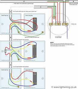 Way switch light wiring