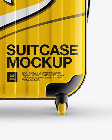 Make incredible images in just a few clicks. Travel Suitecase Mockup - Front View in Object Mockups on ...
