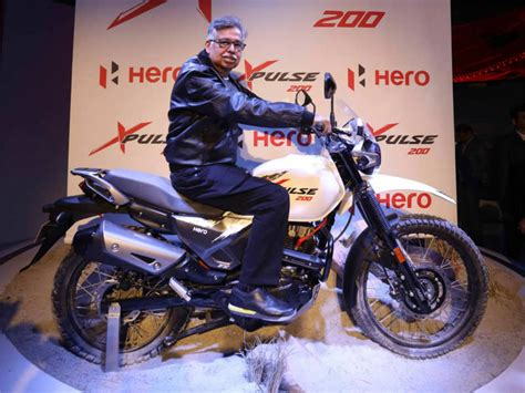 hero motocorp hero motocorp unveils cc adventure bike xpulse  auto expo  times
