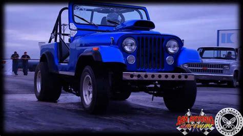 cj drag racing jeep  san antonio raceways truck