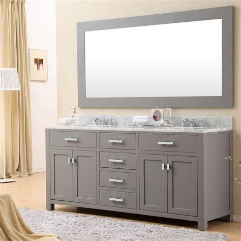 water creation madison 72g madison cashmere grey double basin bathroom vanity sets efaucets com