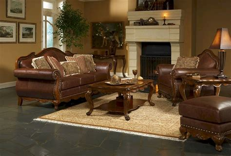 living room ideas  brown leather furniture living