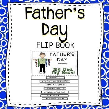 fathers day flip book  images fun education flip