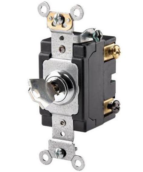 amp  volt key locking double pole ac quiet