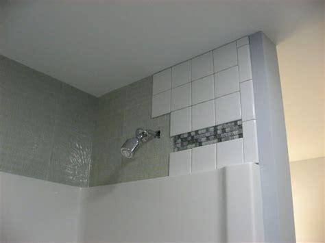 can you install glass tile drywall shower nixinternational