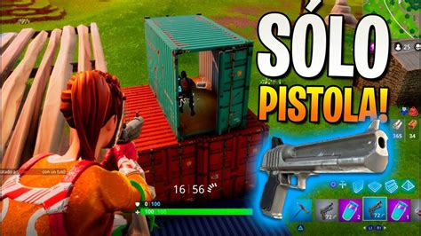 ganando  pistola fortnite battle royale youtube
