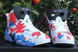 Jordan Chart Of Shoes Newest Air Jordan 6 American Heroes Custom For Sale