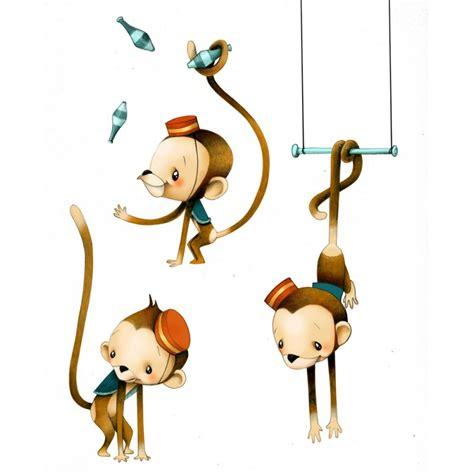 circus 1 petits singes sticker