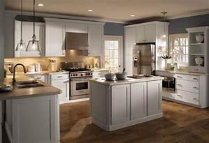 white laminate kitchen cabinets kitchentoday With kitchen images with white cabinets
