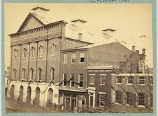 Ford's Theatre Where Lincoln Was Shot