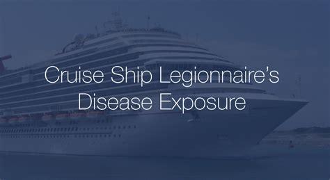 Legionnaires Disease Cruise Ship Outbreak