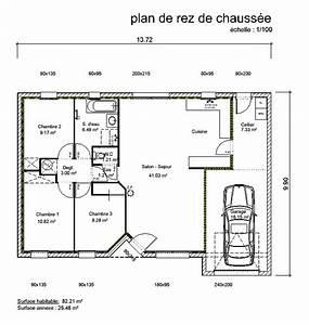 Porche Entrée Maison : maison avec porche d 39 entr e 3 chambres cp10 ~ Premium-room.com Idées de Décoration