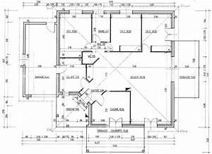 Maison Architecte Plan : plan de maison d architecte gratuit m pices chambres 123 plain pied cotations 1 110m2 mobokive ~ Dode.kayakingforconservation.com Idées de Décoration