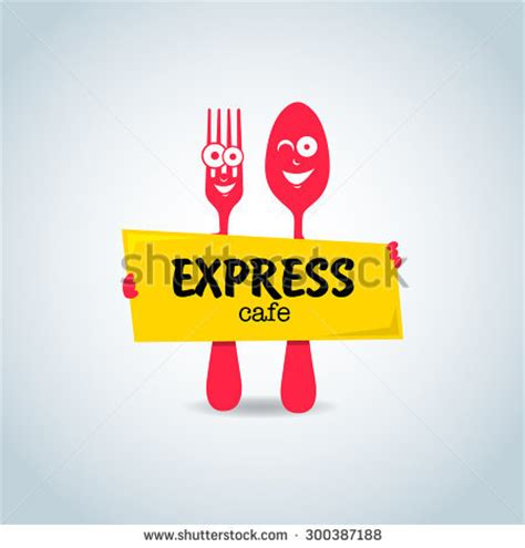 cuisine express restaurant logo stock images royalty free images