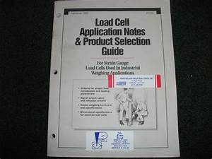 Rice Lake Weighing Systems Load Cell Application Notes