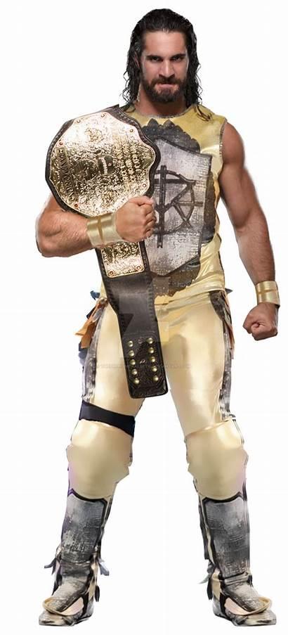 Champion Heavyweight Seth Rollins Wwe Deviantart Renders
