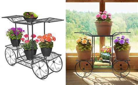 Sorbus Garden Cart Stand & Flower Pot Plant