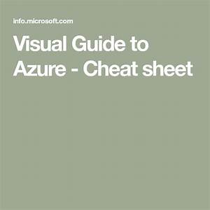 Visual Guide To Azure