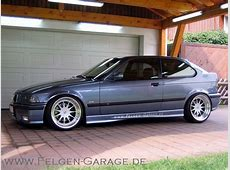 Felgengaragede BMW e36 compact on Hartge Design C wheels