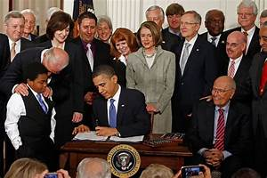 Marcelas Owens in President Obama Signs Health Care Reform ...