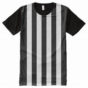 Black And White Vertical Stripes T-Shirts & Shirt Designs ...