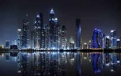 Dubai Desktop Night Computer Emirates Island Arab