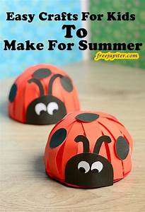 40, Easy, Crafts, For, Kids, To, Make, For, Summer