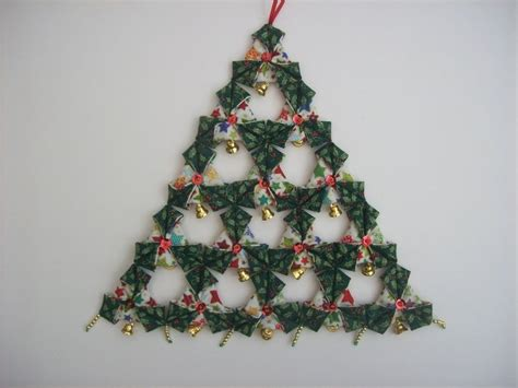 fabric origami quot christmas tree decoration kit ebay